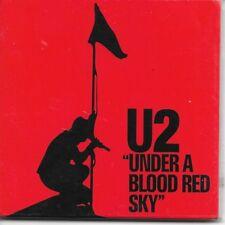 "U2 Under A Blood Red Sky fridge magnet 3"" square  free UK P&P"