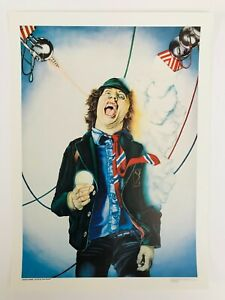 Angus Young AC/DC Poster