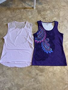 Women's Athleta Tank Top Lot (2) Purple Small S
