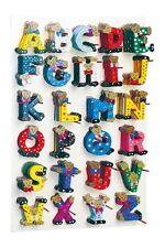 """Holz Buchstaben Kinderzimmer  A-Z """"Bären"""" Namen Türschild Holzbuchstaben Kinder"""