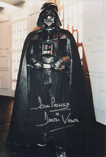 DAVE PROWSE Signed 12x8 Photo STAR WARS DARTH VADER COA