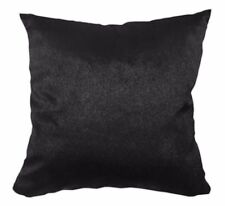 Fh209a Plain Black Soft Faux Mink Fur Cushion Cover/Pillow Case*Custom Size