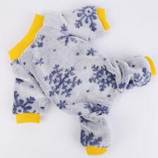 Fleece Dog Clothes Pet Winter Sweater Knitwear Puppy Clothing Warm Apparel Coat