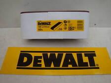 DEWALT Dt3671 100mm X 610mm Sander Sanding Belts 60grit