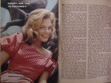 NOV,26-1960 TV Guide(DYAN CANNON/ANN  DORAN/CLU GULAGER/NATIONAL VELVET/HENNESY)