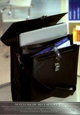 Aktentasche mit Laptopfach in Lederoptik Akten Tasche Laptop Dokumententasche