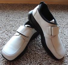 Men's Impulse Steeple Gate Shoes 12 White Made In Italy Retro 1990s