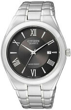 Citizen Mens BI0950-51E Stainless Steel Quartz Watch with a Date Function.