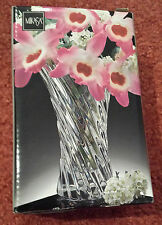 NEW IN BOX MIKASA VISION TWISTED CRYSTAL  BUD VASE