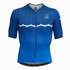 NEW Campagnolo Quarzo Dark Blue Cycling Jersey RRP £96.99 Made in Italy