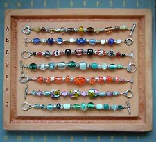 Artisan Handcrafted Bracelet ~ Toggle Clasp ~ Nice Quality Gift Item ~ You Pick
