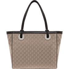 NEW OROTON Signature O Large Tote Handbag Leather Brown Style BNWT RRP $495
