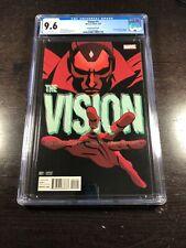 Vision 1 CGC 9.6 White (1/16 Marvel) Martin Variant Cover