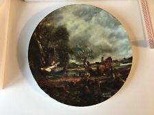 """New listing Royal Doulton Boxed Collectors Plate """"The Leaping Horse"""" from Constables Country"""