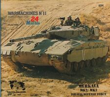 Verlinden Publications IDF MERKAVA 2 &3 MBT Warmachines N°11 Military Photo File