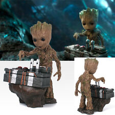 Hot Guardians of the Galaxy Vol.2 Push Bomb Button Baby Groot Figure Statue Toy