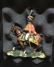 KING AND COUNTRY NA095 FRENCH OFFICER HUSSARS 1812 (WITH DRAWN SWORD)