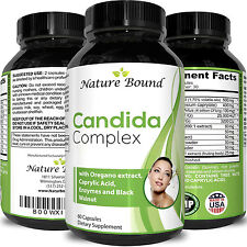 Candida Cleanse Yeast Infection Elimination Herbal Detox Pills Probiotics FAST