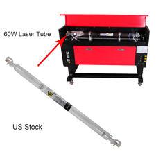 Refroidissement par eau tube laser CO2 60W Tube de laser Longueur 1000 mm 20 KV