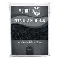 Organic Mother Earth Premium BioChar Soil Enhancer 8oz, 2lb, 5lb or 1 Cubic Feet