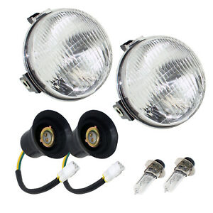 Left And Right Headlight Kit for Yamaha Grizzly 660 YFM660 YFM 660 4X4 2002-2008