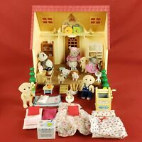 Calico Critters Cozy Cottage Lot with Figures and Accessories