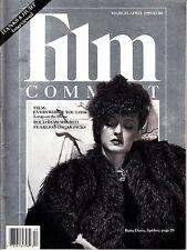 Film Comment March-April 1989 Big Patrick Duncan Bette Davis Scandal