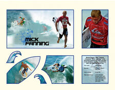 New Mick Fanning Signed Limited Edition Memorabilia Framed