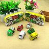 6pcs Kids Children Baby Mini Small Truck Vehicle Pull Back Car Boy Girl Xmas Toy