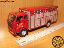 VOLVO F88 F-88 1:43 TRUCK ANIMAL TRANSPORT CAMION