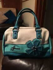 GUESS Faux Leather Blue Bags & Handbags for Women