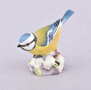 Royal Worcester Bird Figurine - Blue Tit RW3199 by Eva Soper
