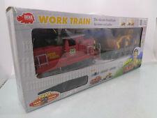 Dikie Spur G 356 3186W Work Train Set Dieselok Wagen Schienen in OVP HS4417