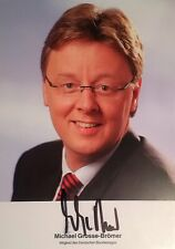 Michael Grosse-Brömer - Bundestages, Autogramm, Autograph