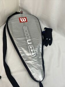 Wilson ncode nblade Power Grooves Turbo Racketball Racket Racquetball BEAUTIFUL!