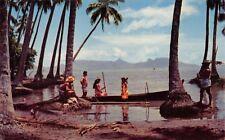(242) Postcard of The Punauia District, Tahiti