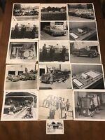 1950 & 1960 photos Pittsburgh Clairton Buena Vista Train Steel Mill Fire Truck