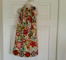 Kids Children Clothing Girls Summer  Pillowcase Dress. Handmade size 5 T.
