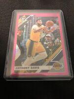 Anthony Davis 2019/20 Panini Optic Pink Hyper Holo Prizm Lakers 90 Donruss🔥📈