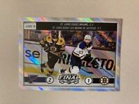 2019 20 Topps NHL Sticker Stanley Cup Finals Game 5 Blues Vs. Bruins #604
