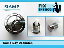 Siamp Skipper 45 Toilet Push Button Dual Flush Water Saving Chrome Homebase