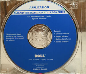 Application Already Installed ~For Reinstalling Dell Tools System Software