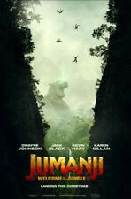 Jumanji - original DS movie poster - 27x40 D/S Adv - 2017 VG