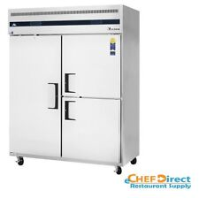 Everest Refrigeration ESWQ3 Reach-In Refrigerator/Freezer Combo