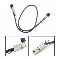 New External Multila Mini SAS SFF-8088 to SFF-8088 Cable Mini SAS 26P 3FT 1M