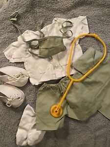 TENDER HEART TREASURES LTD BEAR OUTFIT THT Or DOLL OUTFIT...NURSE OUTFIT W MASK