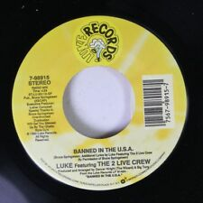 Rap Nm! 45 Luke Featuring The 2 Live Crew - Banned In The U.S.A. / Banned In The
