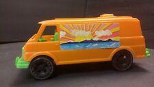 Vintage 70's Hippie Plastic Custom Street Van Toy Sliding Side Door Amloid USA