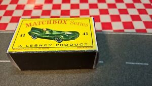 Matchbox Lesney No41 Jaguar D-type Racer Racing Car EMPTY REPRO BOX ONLY NO CAR