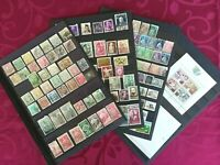PORTUGAL 1870-1993: 159 used and new stamps + 2 minisheets MNH**